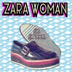 NEW zaRa womaN kickS Size 5.5 TO-a 6